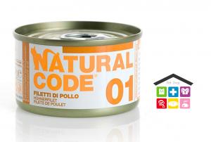 Natural code 01 FILETTI DI POLLO 0,85g