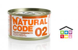 Natural code 02 POLLO E GAMBERETTI 0,85g