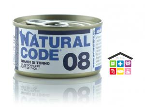 Natural code 08 TRANCI DI TONNO 0,85g