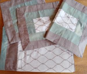 Set completo copriletto con federe per cuscini