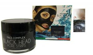 Face Complex, Black Head,  Maschera Black Pore Strips 50 ml