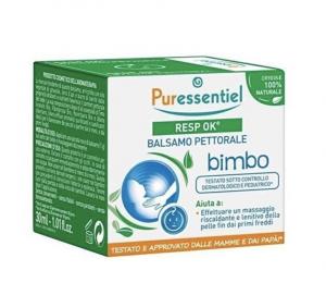 PURESSENTIEL RESP OK BALSAMO DA MASSAGGIO PETTORALE BIMBO 30ML