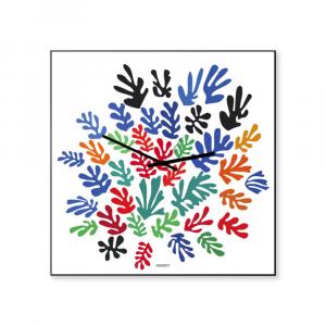 Orologio da parete Matisse arte 50x50 made in Italy