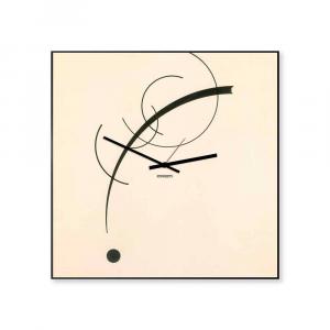 Orologio da parete collezione Kandinsky arte 50x50 made in Italy