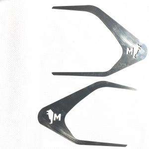 MAN Contorno maniglia con decorazione Leone  in acciaio inox lucido (aisi304)