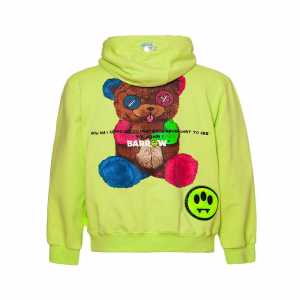 BARROW Hoodie Bear Yellow