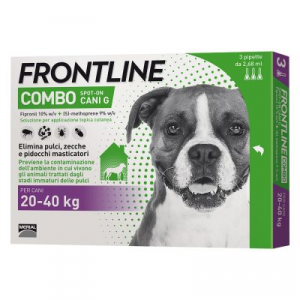 Frontline Combo Spot on Cani  da 20 kg a  40 kg