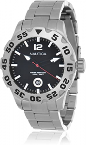 Orologio cronografo uomo Nautica con cinturino in acciaio A17549G
