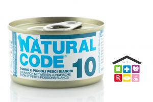 Natural code 10 TONNO E PICCOLI PESCI BIANCHI 0,85