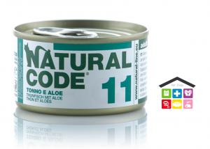 Natural code 11 TONNO E ALOE 0,85