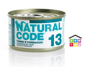 Natural code 13 TONNO E FORMAGGIO 0,85g