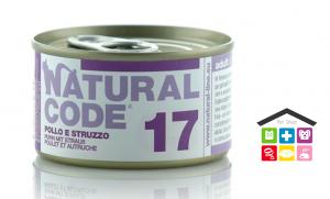 Natural code 17 POLLO E STRUZZO 0,85g