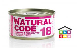 Natural code 18 SGOMBRO E PROSCIUTTO 0,85g