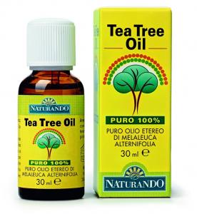 Naturando, Tea Tree Oil puro al 100% 30ml