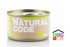 Natural code KITTEN POLLO 0,85g