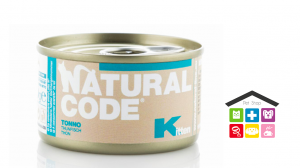 Natural code KITTEN TONNO 0,85g