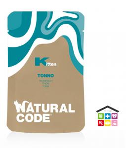 Natural code KITTEN TONNO BUSTA  0,70g