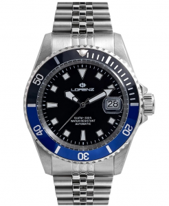 Lorenz Orologio Submariner - Black/Blue