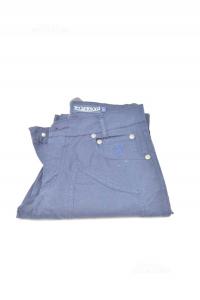 Pantaloni Donna Jeckerson Tg. 27 Blu Scuro In Cotone