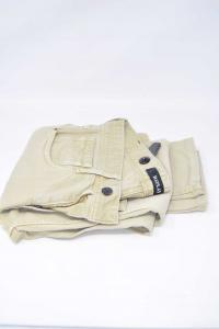 Pantaloni Donna Beige Replay Tg 29