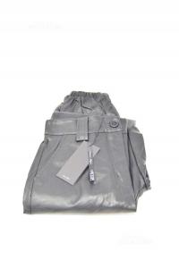 Pantalone Donna Nero Ecopelle NUOVI Le Vip Tg S