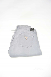 Jeans Donna Grigio Guess Tg 26