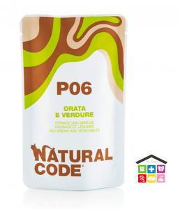 Natural code P06 ORATA E VERDURE busta 0,70g
