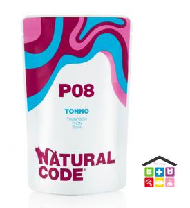 Natural code P08 TONNO busta 0,70g
