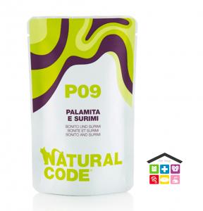 Natural code P09 PALAMITA E SURIMI busta 0,70g
