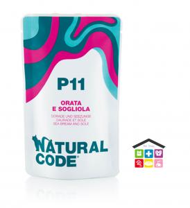 Natural code P11 ORATA E SOGLIOLA busta 0,70g