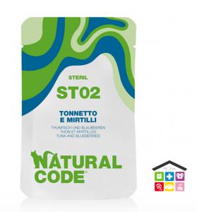 Natural code ST02 TONNETTO E MIRTILLI busta 0,70g