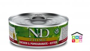 Farmina n&d gatto CHICKEN & POMEGRANATE KITTEN WET FOOD 0,80g