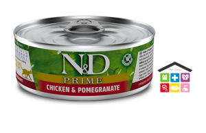 Farmina n&d gatto CHICKEN AND POMEGRANATE WET FOOD 0,80g
