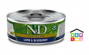 Farmina n&d gatto LAMB AND BLUEBERRY WET FOOD 0,80g