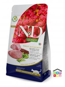Farmina n&d gatto WEIGHT MANAGEMENT LAMB 1,5kg/5kg