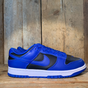 Scarpa Nike Dunk Low Retro Blu Royal E Nero