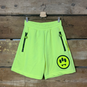 Pantaloncino Barrow Sweat Short Unisex Giallo Fluo