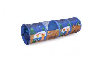 Tunnel per gatti  componibile con inserto in rete CAMON