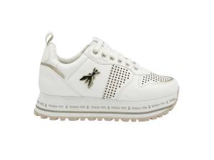 Sneaker platform con logo