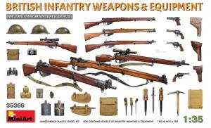 British Infantry Weapons & Equipment