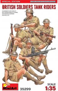 British Soldiers Tank Riders