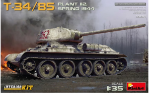 T-34/85 Plant 112. Spring 1944