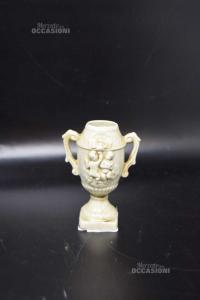 Oggetto Coppa In Ceramica Altezza10 Cm