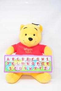 Peluches Elettronico Winnie The Pooh Alfabeto Clementoni 35 Cm