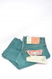 Jeans Uomo Verde Levi's Tg 44 Nuovo