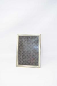 Porta Foto Vintage Rettangolare In Argento 925 Dimensione 20 X 14 Cm