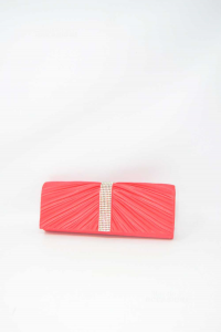 Clutch Bag Woman Pink With Jewels