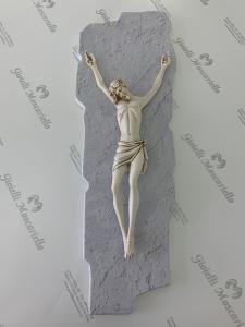 Crocifisso Estego in legno da parete Made in Italy 960103.2