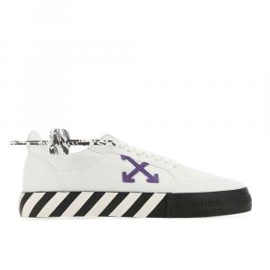 Off-White Sneakers Virgil Abloh Bianco Violetto da Uomo