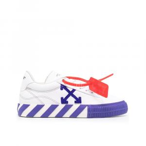 Off-White Sneakers Virgil Abloh Bianco Porpora da Donna